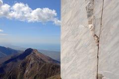 Marmeren steengroeve 1 Stock Afbeeldingen