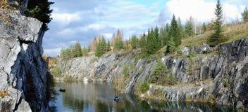 Marmeren steengroeve 5 Stock Fotografie