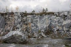 Marmeren steengroeve 6 Royalty-vrije Stock Foto's