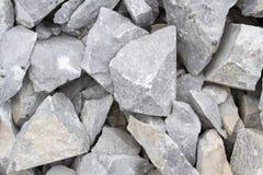 Marmeren steengroeve, wit marmer Stock Afbeeldingen