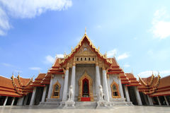 Marmeren tempel Stock Foto's