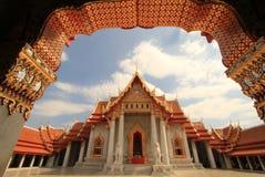 Marmeren tempel Stock Fotografie
