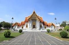 Marmeren tempel Stock Afbeelding