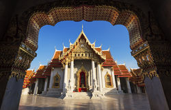 Marmeren tempel Stock Foto