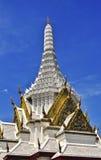 Marmeren Tempel in Bangkok Thailand Royalty-vrije Stock Afbeeldingen