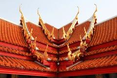 Marmeren tempeldak Stock Fotografie