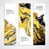 Marmeren textuur banner2 Royalty-vrije Stock Afbeelding