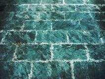Marmeren textuur en patroon van bakstenen muur Stock Afbeeldingen