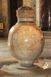Marmeren urn Stock Fotografie