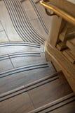 Marmeren wenteltrap Royalty-vrije Stock Afbeeldingen