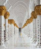 Marmeren zaal Royalty-vrije Stock Foto's