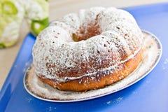 Marmeren zoet het dessertvoedsel van de bisquitcake Stock Afbeeldingen