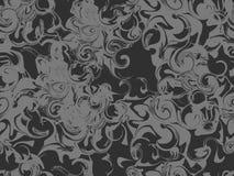 Marmerend naadloos patroon Marmerdocument waterverf Het trekken op het water De texturen van Grunge Vector Stock Afbeelding