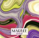 marmering Marmeren textuur Artistieke abstracte kleurrijke achtergrond Plons van verf Kleurrijke vloeistof Heldere kleuren vector illustratie