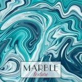marmering Marmeren textuur Vector abstracte kleurrijke achtergrond De plons van de verf stock illustratie