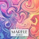 marmering Marmeren textuur Vector abstracte kleurrijke achtergrond De plons van de verf Kleurrijke vloeistof stock illustratie