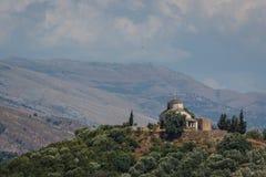 Marmiroi教会的废墟  免版税库存图片