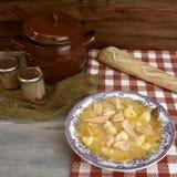 Marmite or Marmitaco, fish stew Stock Images