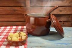 Marmite or marmitako traditional Spanish stew Stock Photo