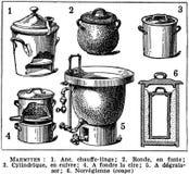 marmites Stock Image