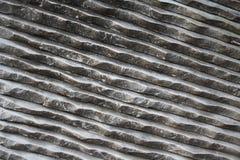 Marmo bianco scanalato in fotografia stock