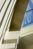 Marmo, curva di vetro Fotografie Stock Libere da Diritti