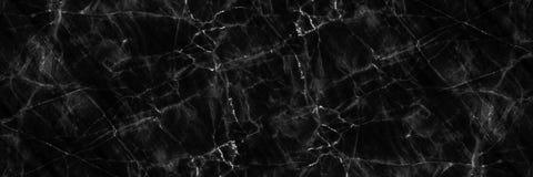 marmo naturale nero elegante orizzontale per il modello ed il fondo fotografie stock libere da diritti