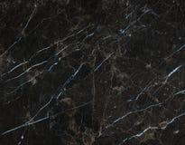 Marmo nero Fotografia Stock Libera da Diritti