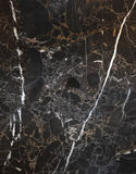 Marmo nero Fotografia Stock