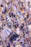 Marmo porpora Fotografia Stock
