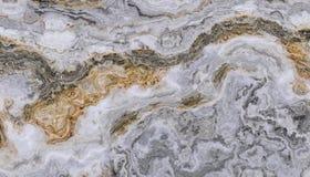 Marmo riccio dell'oro grigio Immagini Stock Libere da Diritti