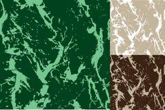 Marmo senza giunte in tre coloures Fotografie Stock