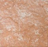 Marmo strutturato rosso di color salmone Immagine Stock Libera da Diritti
