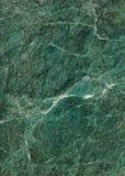 Marmo verde Fotografia Stock