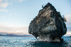 Marmol Cathedral rock formation, Carretera Austral, HIghway 7, C Stock Photography