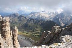 Marmolada-Berg, Italien Lizenzfreie Stockbilder