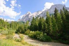 Marmolada - Dolomites, Italy Stock Image