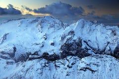 Marmolada in the Dolomites, Italy, Europe Royalty Free Stock Photos