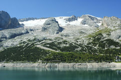 Marmolada, Dolomites Stock Photography