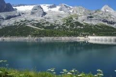 Marmolada, Dolomites Stock Photo