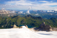Marmolada glacier, Dolomites, Alps, Italy Royalty Free Stock Photography