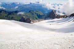 Marmolada-Gletscher, Dolomit, Alpen, Italien stockfoto