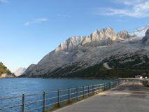 Marmolada, Lago di Fedaia Royalty Free Stock Images