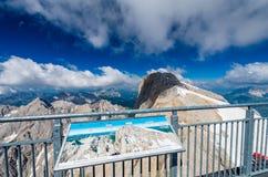 Marmolada massiv, Dolomiti, Itay Arkivbild