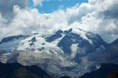 Marmolada peak. Royalty Free Stock Photography