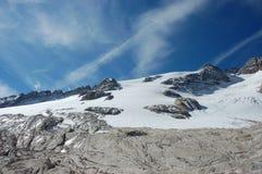Marmolada peak. Stock Image