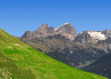Marmolada peak Royalty Free Stock Photos