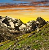 Marmolada peak Stock Images