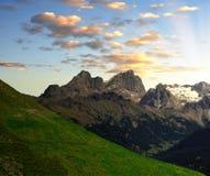 Marmolada. Peak,Val di Fassa - Italy Alps Stock Photography