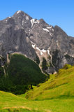 Marmolada peak Stock Photography